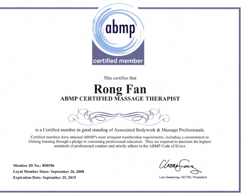 ABMP CERTIFICATION